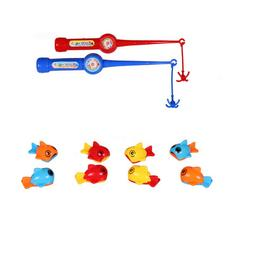1 Set Bath Toy Fishing Game Durable Funny Baby Toys Fishing