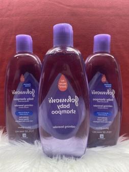 3- JOHNSON'S Baby Shampoo with Calming Lavender 15 oz. AUTHE