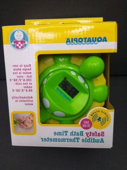 Aquatopia - Safety Bath Time Audible Thermometer
