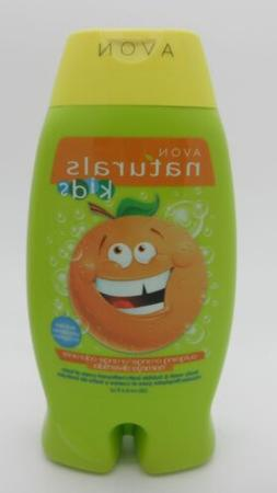 Avon Naturals Outgoing Orange Kids Body Wash & Bubble Bath 8