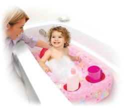 Disney Princess Inflatable Safety Bathtub, Pink