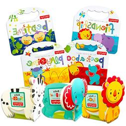 Fisher Price Baby Toddler Beginnings Board Books Super Set