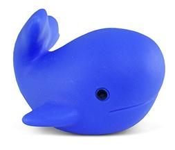 Puzzled Whale Water Squirter Rubber Bath Toy, 3 Inch Adorabl