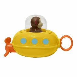 Skip Hop Zoo Bath Pull and Go Submarine, Monkey