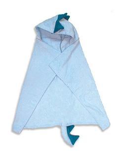 Trend-Lab Character Premier Hooded Towel, Blue Dinosaur