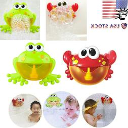 Automatic Bubble Maker Machine Big Crab&Frogs Bubble Maker B