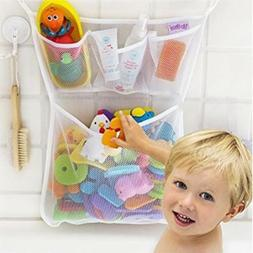 Baby Bath Bathtub Toys Organizer Mesh Net Storage Bag Bathro