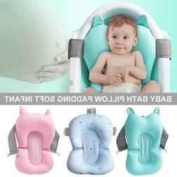 Baby Bath Pillow Infant Toddler Lounger Air Cushion Floating