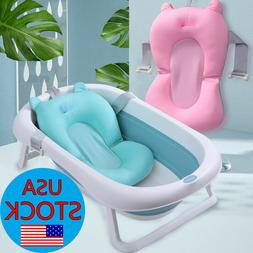 Baby Bath Tub Pad Non-Slip Bathtub Seat Support Mat Newborn