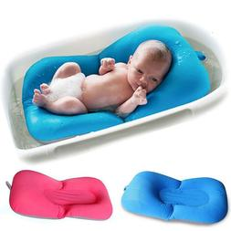 Baby Bath Tub Pad Shower Nets Newborn Kids Bath Seat Infant