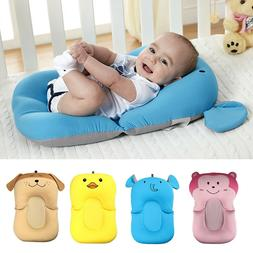 Baby Bath Mat Anti-skid Pillow Pad Folding Lounger Air Cushi