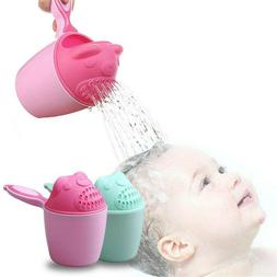 Baby Bath Waterfall Rinser Kids Shampoo Rinse Cup Shower Was