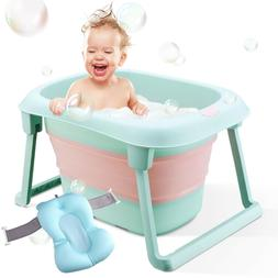 Baby Bath Tub Folding Infant Bathtub Portable Toddler Bath S