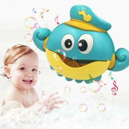 Baby Bubble Machine Big Octopus Automatic Bubble Maker Blowe