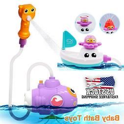 Baby Children Kids Bath Toys Tub Bathroom Submarine Water sp