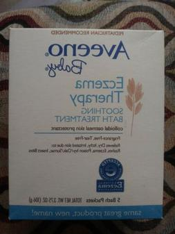 AVEENO Baby Fragrance Free Soothing Bath Treatment Packets 5