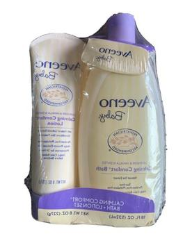 Baby Gift Set Bath Lotion Aveeno Skin Tear Soap Free Lavende