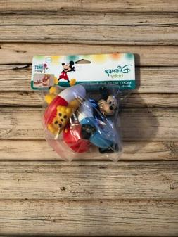 Disney Baby Mickey Mouse Bath Squirt Toy Set - NEW!