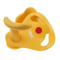 Baby Shower Seat Bath Seat Support Kids Sit Up in Tub Yellow