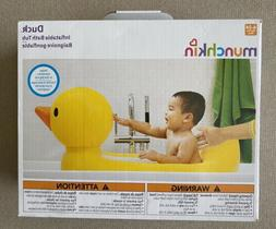 Munchkin Baby Toddler Duck Inflatable Bath Tub White Hot Ind