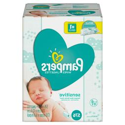 Pampers Baby Wipes Sensitive 9X Refill  576 Count NEW