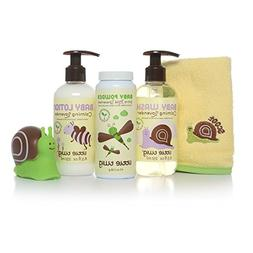 Little Twig All Natural Baby Basics Gift Set with Baby Powde