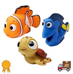 Bath Baby Toys Kids Rubber Tub Water Bathroom Nemo Disney To