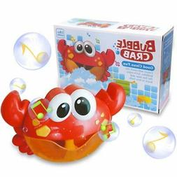 ZHENDUO Baby Bath Bubble Toy Bubble Crab Bubble Blower Bubbl