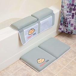 Bath Kneeler with Elbow pad Rest Set- Padded Knee mat for tu