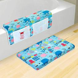 Bath Kneeler and Elbow Rest Pad Set -Mat and Arm Rest for Ba