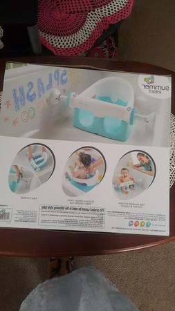 Summer Infant My Bath Seat, Baby Bathtub Seat for Sit-Up Bat