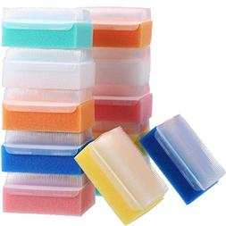 Jetec 12 Pieces Baby Bath Shower Sponge Soft Foam Scrubber B