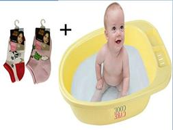 Cool Care Baby Bath Tub for Sitters, 100% BPA Free, Makes Ba