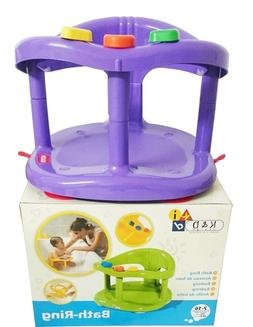 Baby Bath Tub Ring Seat KETER Color PURPLE FAST SHIPPING FRO