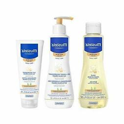 Mustela Bathtime Gift Set, Baby Skin Care for Normal, Dry, S