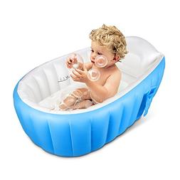 Infant Baby Bathtub Portable Toddler Thick Foldable Shower B