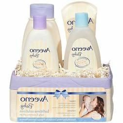 Brand New Aveeno Baby Daily Bath Time Solutions Gift Set To
