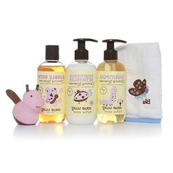 Little Twig All Natural Bubble Bath Gift Set with Shampoo, C