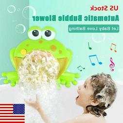 Bubble Machine Big Frog Automatic Bubble Maker Blower Music