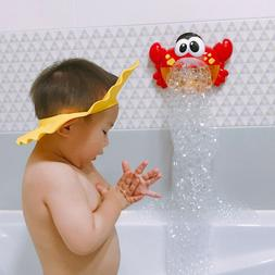 Bubble Machine Crab Automatic Bubble Maker Blower Music Bath