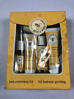 Burt's Bees Baby Bee Getting Started 5-Piece Kit NEW BJ
