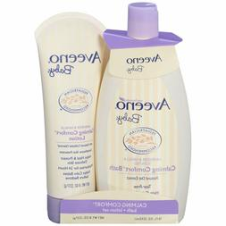 Calming Comfort Bath And Lotion Set with Natural Oat Extract