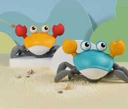 Cartoon Baby Bath Toys Cute Swim Big Crab Cable Learning to