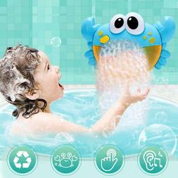 Cartoon Crab Automatic Music Bubble Maker Bathtub Soap Machi