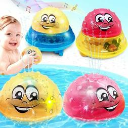 Children Electric Induction Sprinkler Water Spray Toy Light