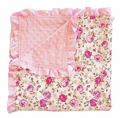 Posh Peanut Baby Floral Blanket Toddler Soft Blankie with Sa
