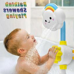 Cloud Baby Bath Toys Bathtub Showers Bathing Spouts Suckers