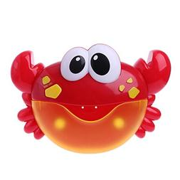 Numkuda Crab Bubble Machine Bathroom Bubble Maker Bath Toy K