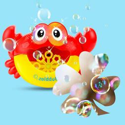 Crab Bubble Machine Musical Bubble Maker Bath Baby Toy Bath