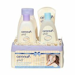 Aveeno Baby Daily Bathtime Solutions Gift Set to Nourish Ski